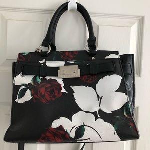 Dana Buchman Rose Print Handbag